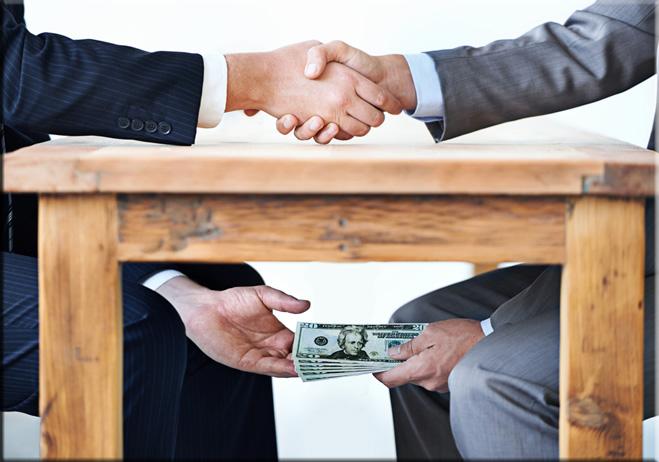 La corrupción y el dinero